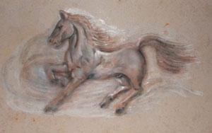 Pferd Relief